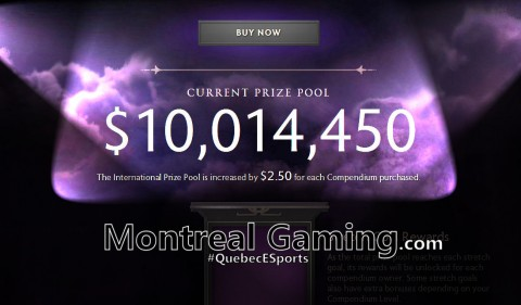 DOTA 2 – The International 2014 – $10,000,000