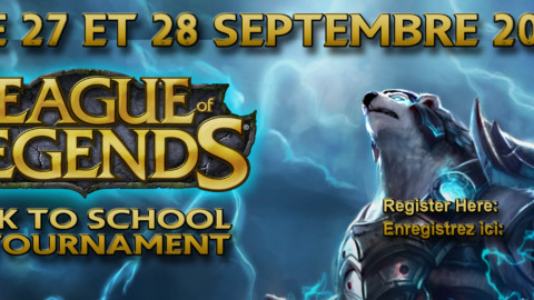 Back to school tournament UPDATE
