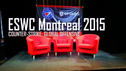 Analyse de l'ESWC Montréal 2015