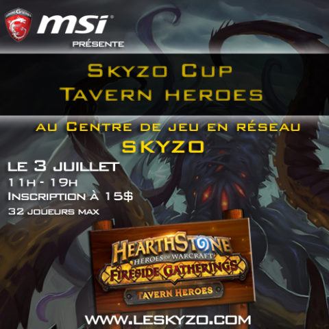 SkyzoCup Summer Tavern Heroes edition