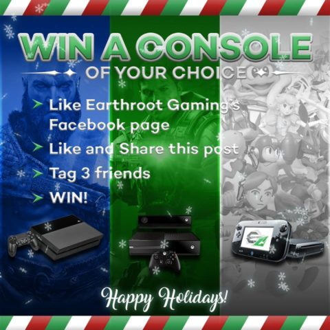 Win a Console – Earthroot Gaming