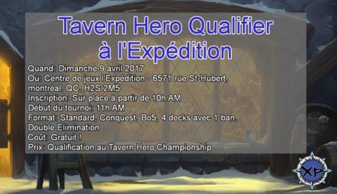 l'Expédition: Tavern Hero Qualifier à l'Expédition