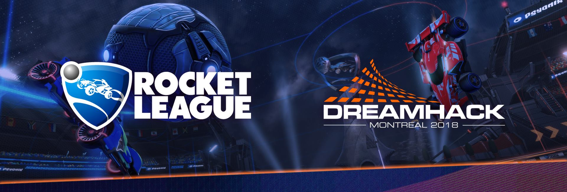 Dreamhack Montreal 2018 - Rocket League