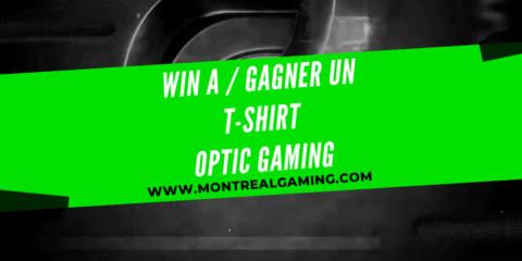 Giveaway: Optic Gaming t-shirt
