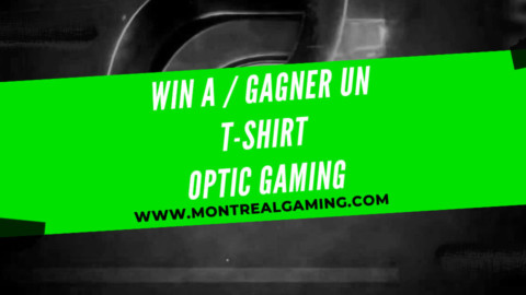 Giveaway: Optic Gaming t-shirt