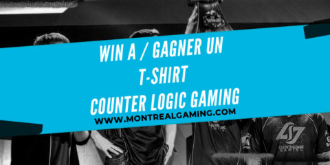 Giveaway: Counter Logic Gaming t-shirt