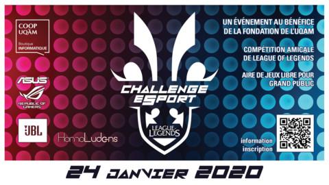 E-Sport Challenge Coop UQAM