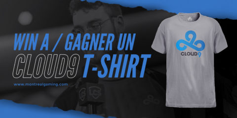 Giveaway: Cloud9 t-shirt